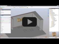 Embedded thumbnail for Создание модели мебельного проекта в TopSolid 7