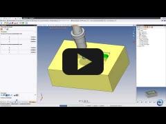 Embedded thumbnail for Фрезерная плунжерная обработка кармана матрицы