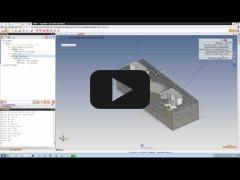 Embedded thumbnail for Сравнение и замена детали обработки TopSolid'Cam