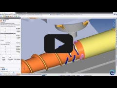 Embedded thumbnail for Обработка двухзаходного шнека