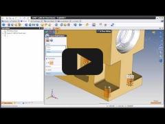 Embedded thumbnail for Свободное моделирование TopSolid'Design