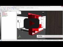 Embedded thumbnail for Создание дизайна гардеробной в TopSolid