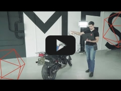 Embedded thumbnail for Создание точной 3D-модели мотоцикла с помощью сканеров Artec Eva и Artec Space Spider