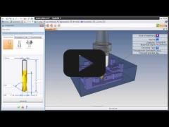 Embedded thumbnail for Топологическое распознавание элементов TopSolid'Cam