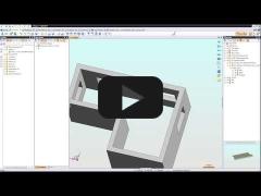 Embedded thumbnail for Пример работы Геометрического шаблона в TopSolid 7. Шаблон подоконника